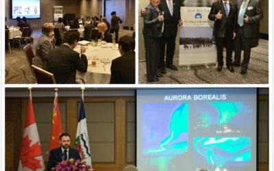 Canada Northwest Territories Delegation Visited Asia Jan. 2015