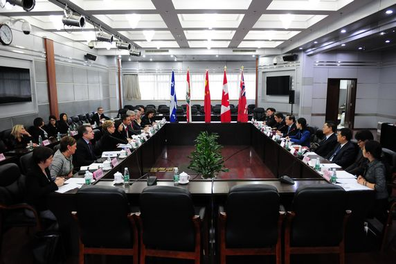 Sunrise Group Successfully Facilitated 2014 Canada Premiers Mission on China