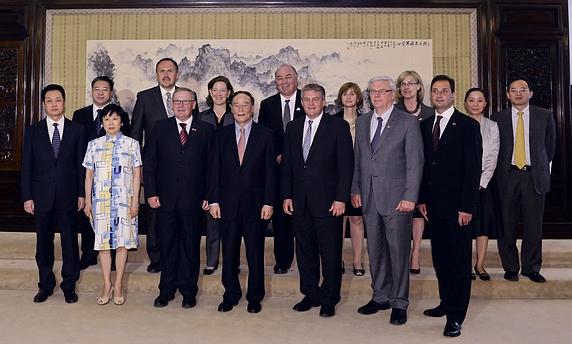PEI Premier Delegation visited China in September of 2012