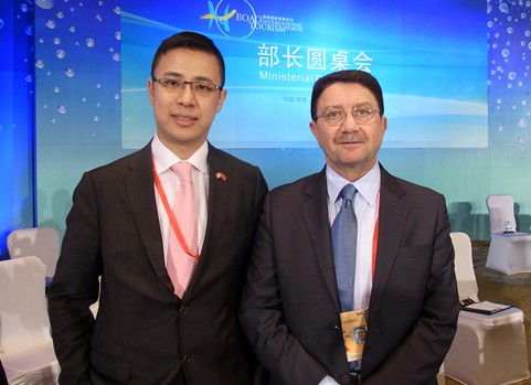 Participate in the 2010 Boao Forum