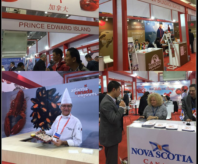 Atlantic Canada showcase in 2014 China Fisheries and Seafood Expo with Sunrise Assistance