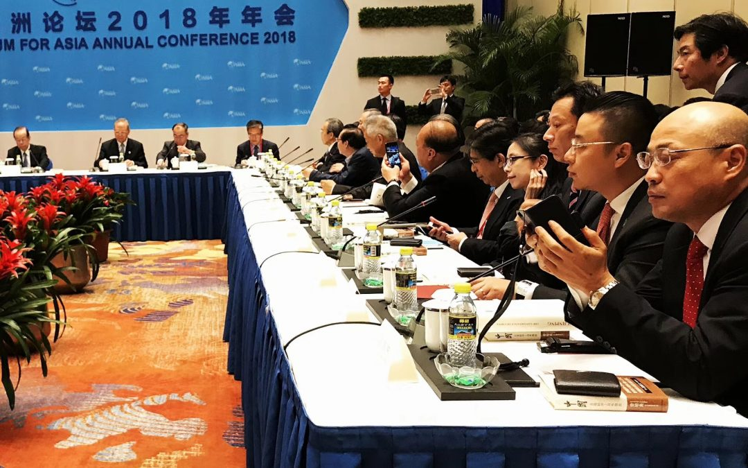 Sixth Time to BoAo Forum: Exposing the world and occupying the top position